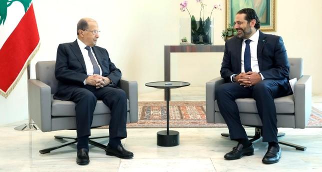 الحريري يعلن تسليم الرئيس اللبناني صيغة حكومة وحدة وطنية