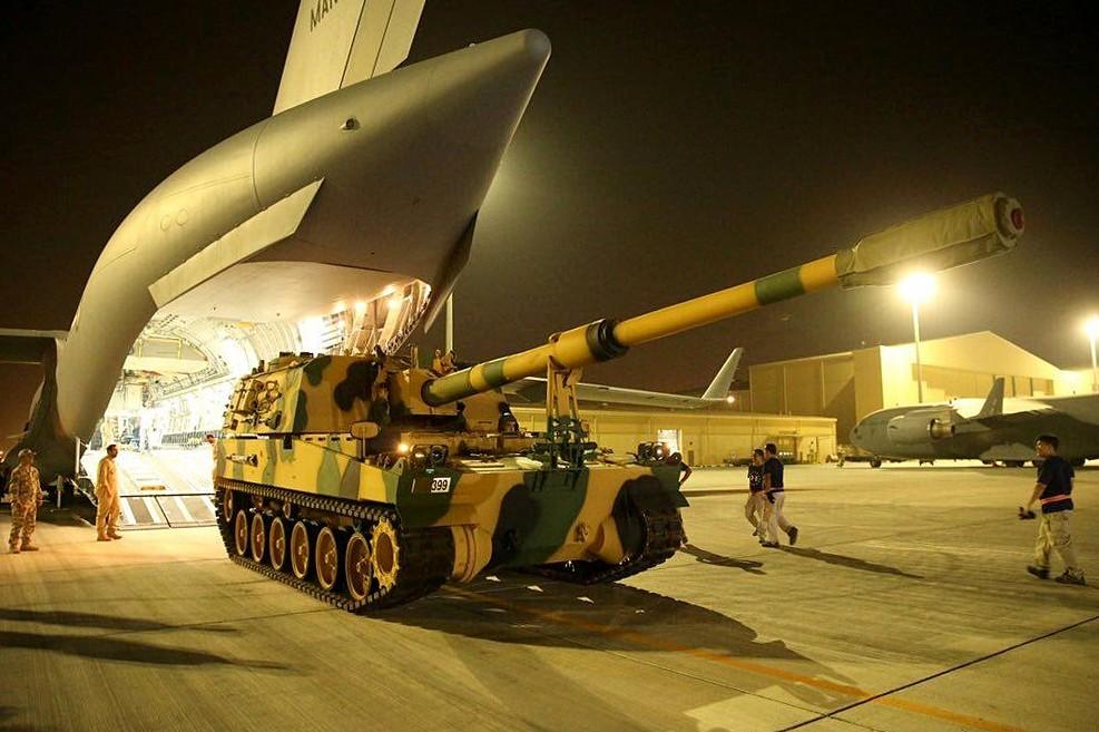 A sixth batch of Turkish troops arrive in Doha, Qatar.