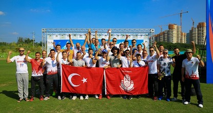 Istanbul firefighters win 24 golds at WFG in SKorea