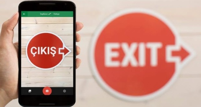 Google Translate app enables smartphones to translate signs, menus and more into English.