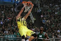 Fenerbahçe toppled Panathinaikos 80-75 on Thursday, to take a commanding 2-0 lead in the best-of-five series of their Turkish Airlines Euroleague Basketball play-off matchup.