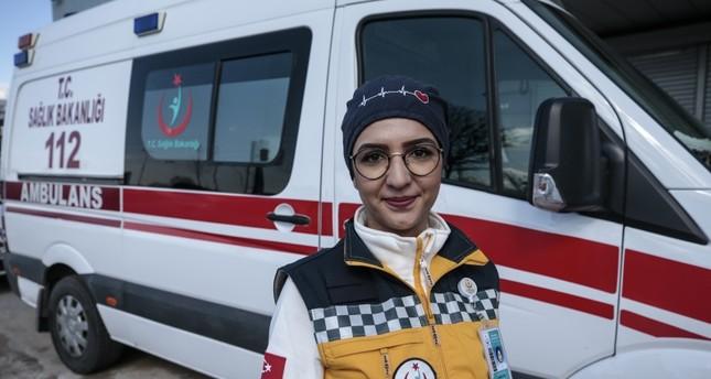 تحديات امرأة تركية امتهنت قيادة سيارات الإسعاف
