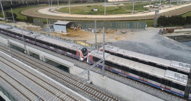 افتتاح مشروع قطار يربط بين الجانبين الآسيوي والأوروبي من مدينة إسطنبول