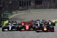 Red Bull's Verstappen wins Brazil Grand Prix as Ferrari crashes out
