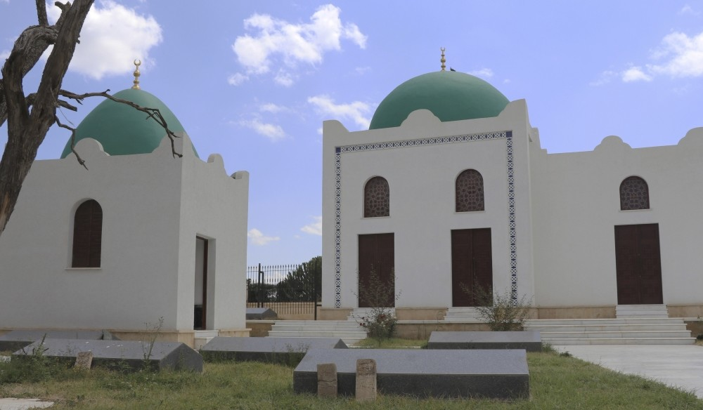 Tu0130KA announced the renovation of the mosque was part of a scheme to promote common cultural values and assets abroad and to contribute to the development of intergovernmental cooperation.