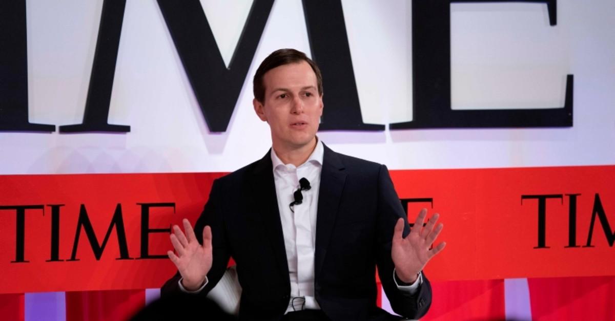Senior Advisor to the President Jared Kushner speaks during the Time 100 Summit event April 23, 2019 in New York. (AP Photo)