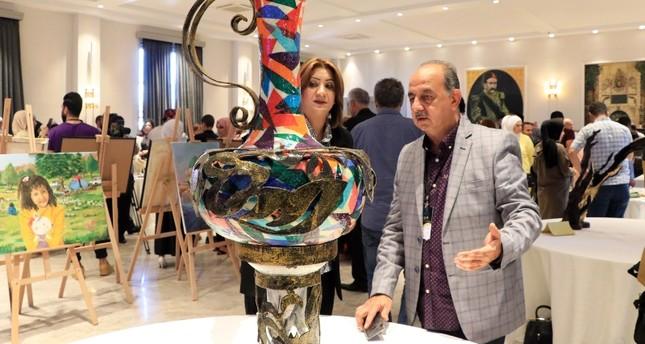 80 فناناً عربياً يشاركون في مهرجان الوجه الآخر لفوضى منتظمة في إسطنبول