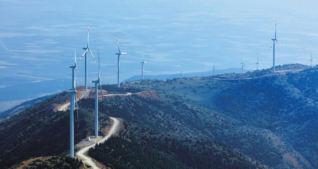 Turkey produced 132.90 gigawatt-hours of electricity from wind farms on Sunday.