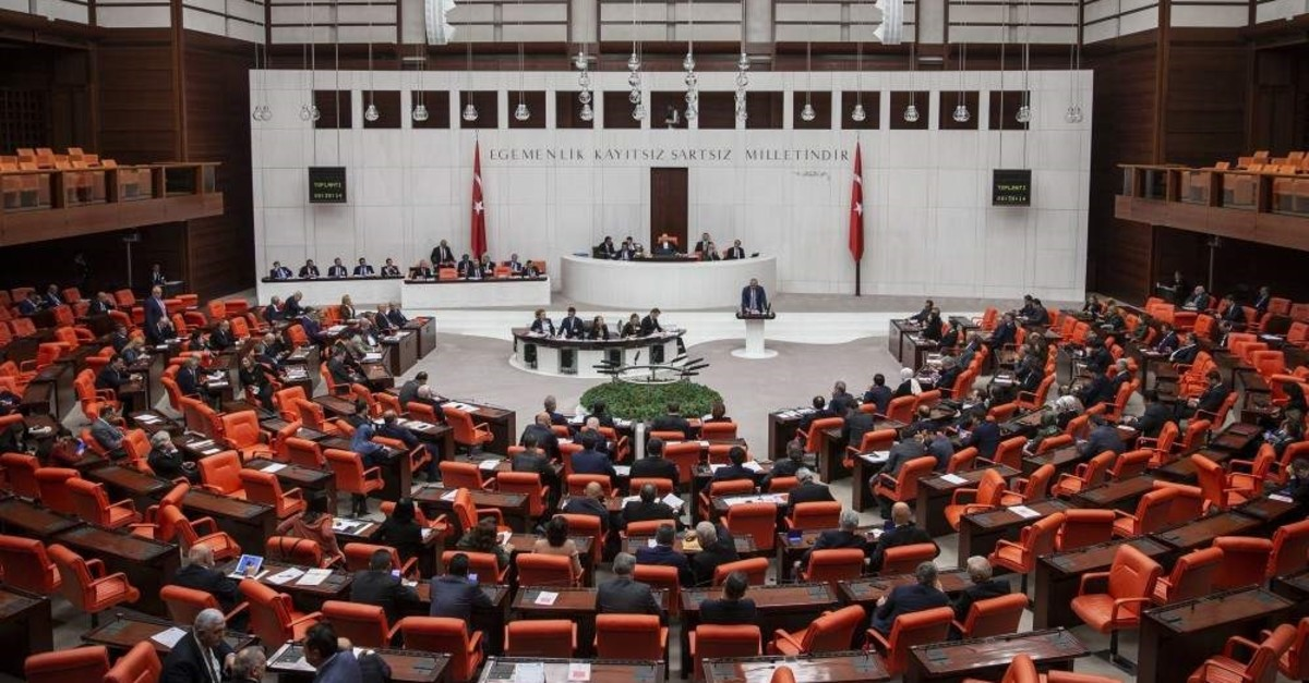 A general view of the Grand National Assembly of Turkey. (AA Photo)
