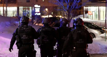 pAt least six people were killed and several people wounded after gunmen opened fire at a mosque in Quebec City late Sunday, media reported./p  pA Quebec police spokesman confirmed that there...
