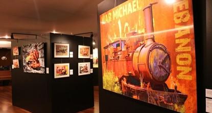 قطارات لبنان الملونة.. معرض لخط سكة حديد الحجاز بعدسة السفير التركي في لبنان
