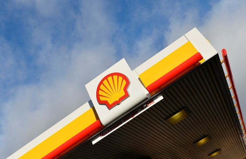 Shell branding is seen at a petrol station in west London, in this January 29, 2015 file photo. (Reuters Photo)