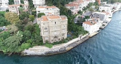 Istanbul waterside mansion on sale for $96M