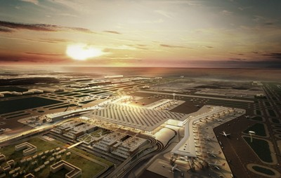 Istanbul's new airport is reported to be the largest transport infrastructure project in the history of the Turkish Republic with an investment of nearly 40 billion euros.