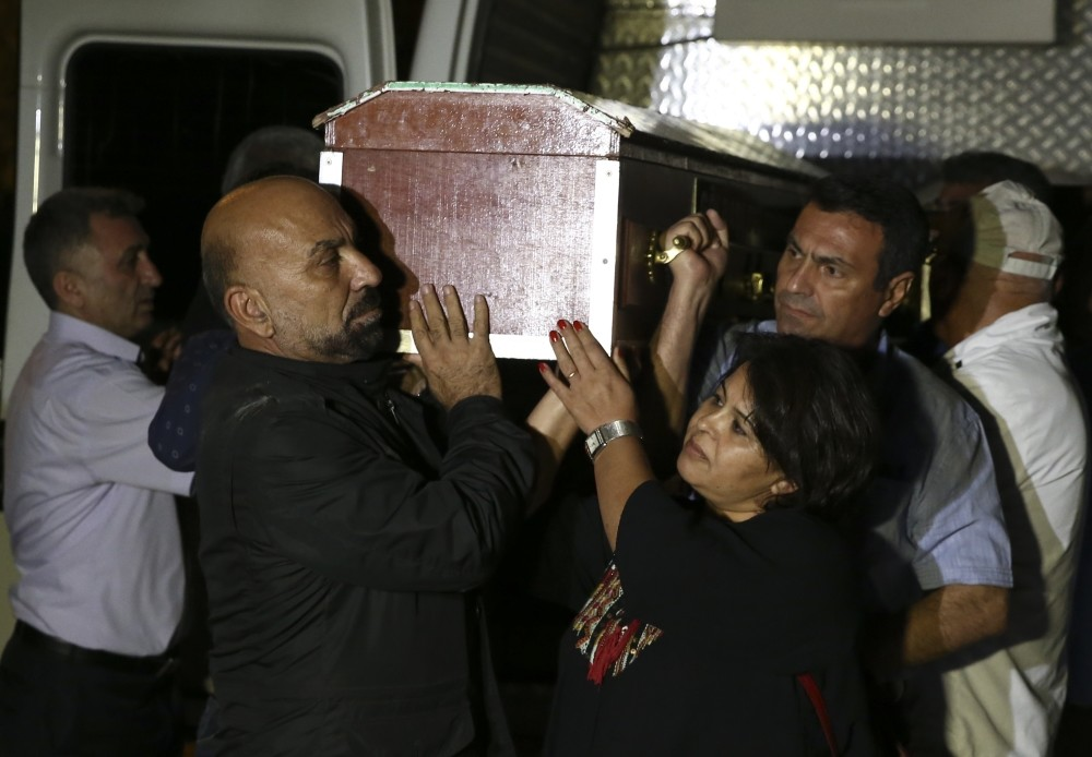 After a group attacked those attending the funeral of Hatun Tuu011fluk in Ankara, the body was taken to Tunceli in the country's east for burial. Some of the attackers were detained yesterday.