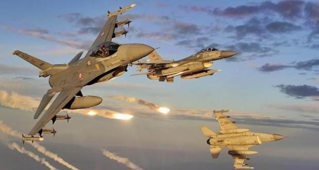 مقاتلات تركية تدمر مواقع لداعش قرب منطقة الباب