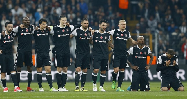 Beşiktaş fail to advance in Europa League after penalty shootout against Lyon