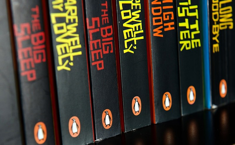 This file photo taken on October 29, 2012 shows books from the Penguin publishing company on display at a book store in central London. (AFP Photo)
