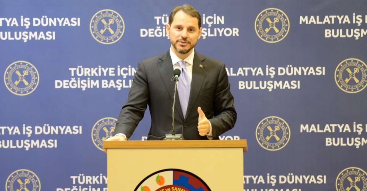 Treasury and Finance Minister Berat Albayrak. (AA Photo)