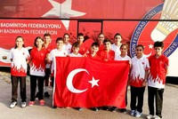 Turkey claims 10 medals at Badminton Championships