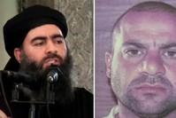 محمد عبد الرحمن المولى الصلبي يمين خليفة البغدادي يسار