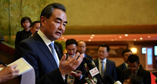 China's Foreign Minister Wang Yi speaks during a press conference on the sidelines of the 50th Association of Southeast Asian Nations ASEAN regional security forum in suburban Manila on August 7, 2017 AFP Photo