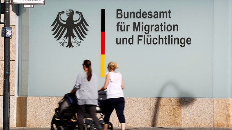 An office building of the Federal Office for Migration and Refugees (BAMF) is pictured in Berlin, Germany May 24, 2018. (Reuters Photo)