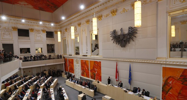 A general view of a session of the parliament in Vienna, Austria, December 20, 2017. Reuters Photo