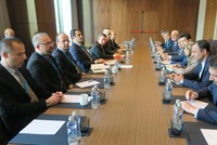 High-level Syria talks highlight opposition to illegal seizure of oil revenues