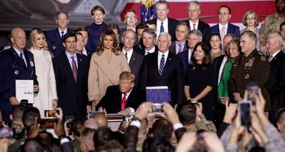 Trump signs $738B defense bill including sanctions