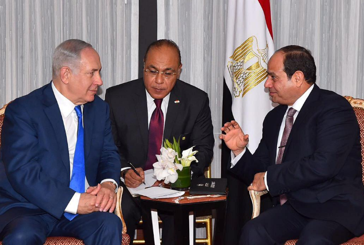 The Egyptian Presidency/Handout via REUTERS