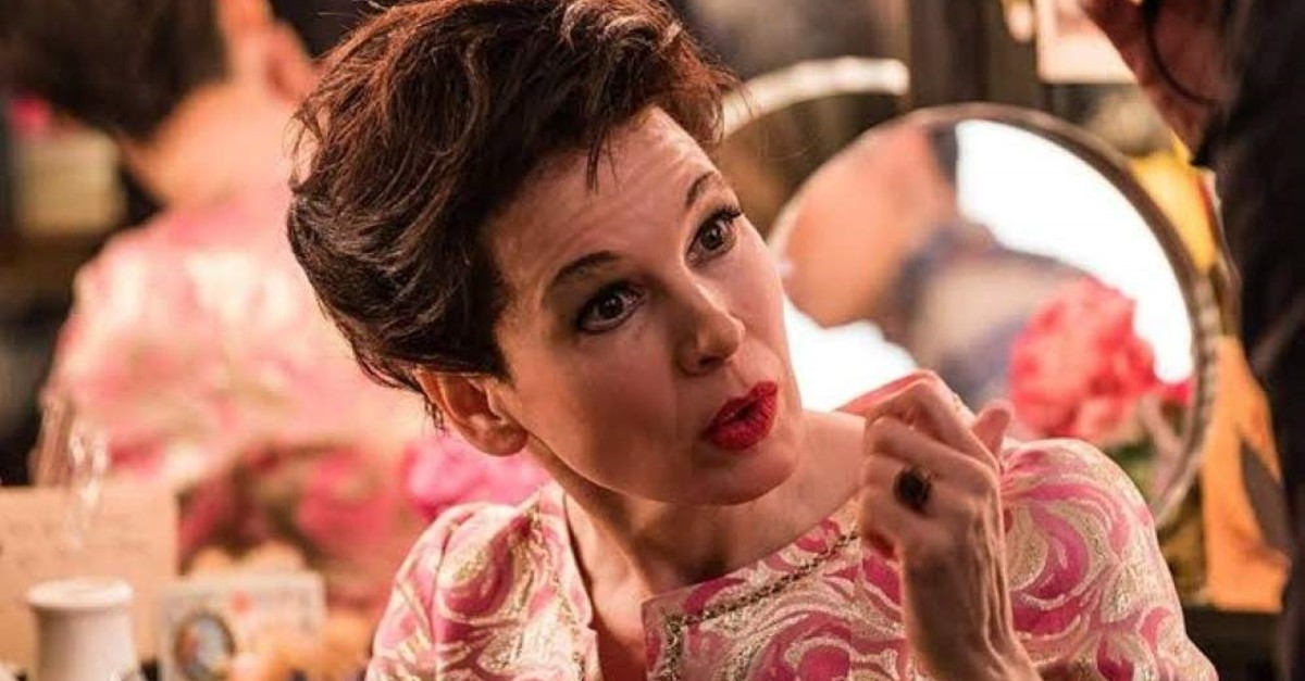 Renee Zellweger as Judy Garland in ,Judy.,