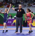 مصارعة تركية تفوز بميدالية ذهبية في مهرجان الشباب الأوروبي