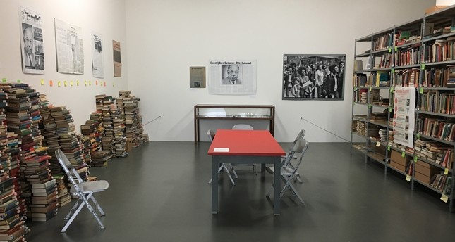 "Black archives is a room full of books and several publications that are part of the ""Cinema Olanda: Platform."" The Black Archive produces an alternative, independent history from the perspective of the black community in the country."