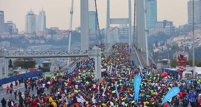 ماراثون فودافون إسطنبول العابر للقارات ينطلق الأحد