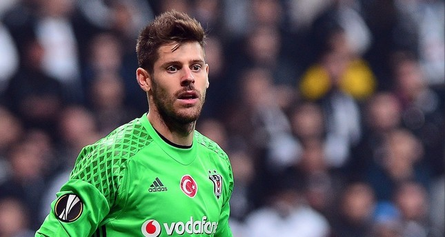 Beşiktaş's Spanish goalkeeper Fabri