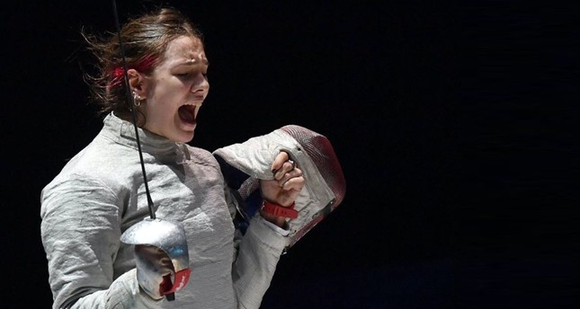 Turkish female fencer makes history, becomes European champion