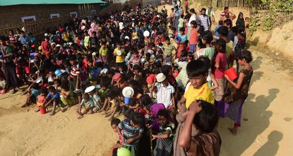 pHuman rights groups called on Friday for international agencies to be allowed to monitor the planned repatriation of hundreds of thousands Rohingya Muslim from Bangladesh to the homes they fled in...