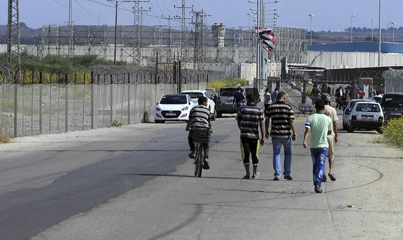 The Palestinian side of Erez Checkpoint (File Photo)