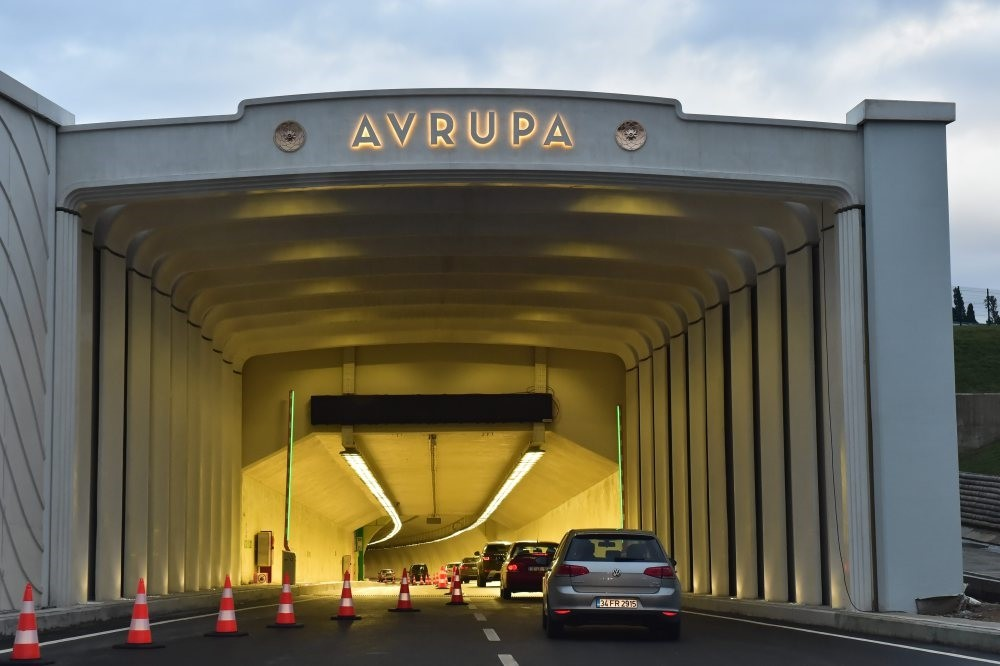The Eurasia Tunnel that links Istanbul's Asian and European side underwater is credited for easing traffic congestion.