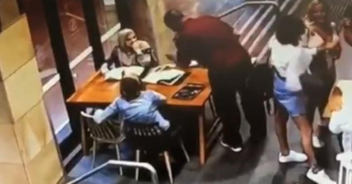 Screenshot from  CCTV video