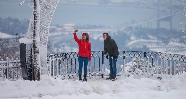 سياح إسطنبول يتخطون المليون في شهر يناير وحده