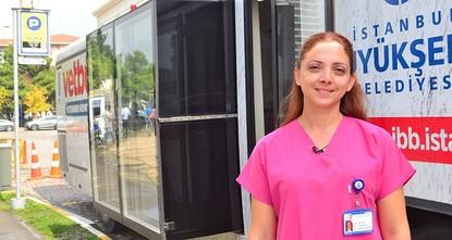 Mobile vet clinics treat Istanbul's stray animals