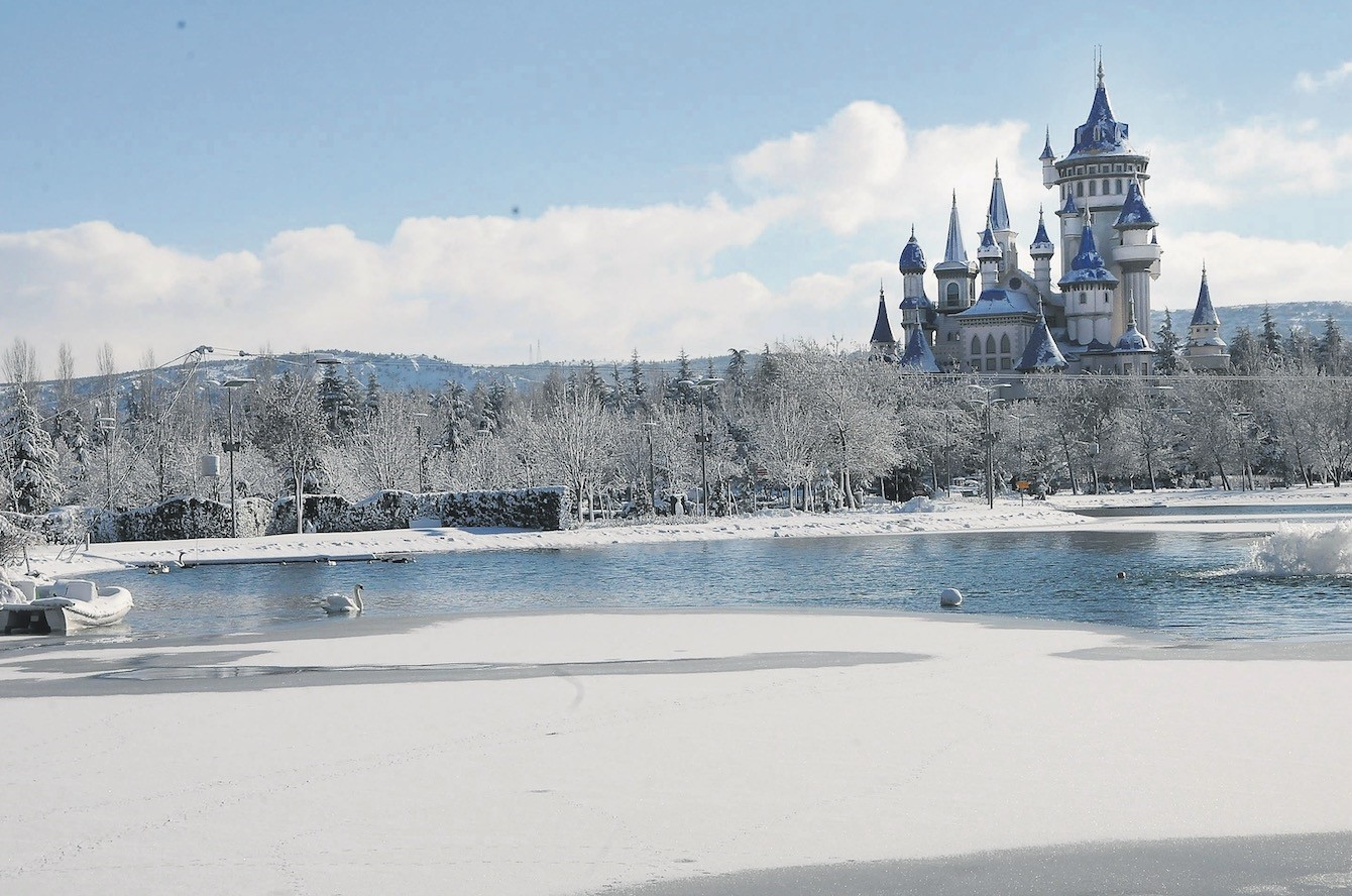 Fairy Tale Castle in Eskiu015fehir is a gateway to a magical experience.