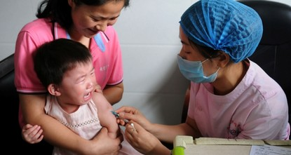 China fires regional officials over growing vaccine scandal