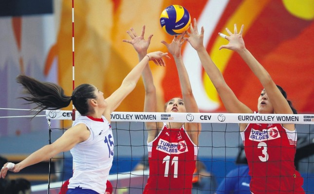 Turkey to face Russia in women's EuroVolley quarterfinals