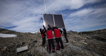 Turkey's meteorology station in Antarctica begins operations