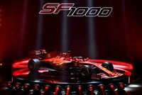 Ferrari unveil SF1000 car for upcoming F1 season