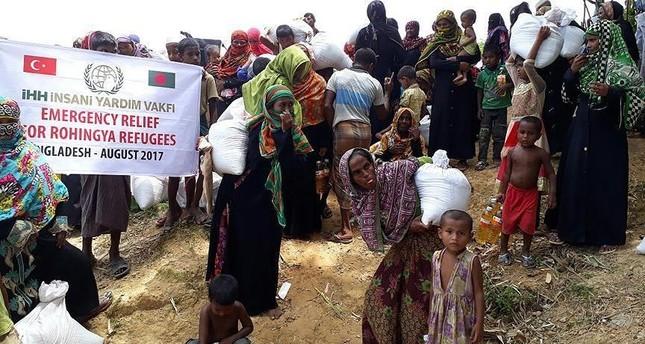 جمعيات خيرية تركية تطلق حملة للتبرع بلحوم الأضاحي لصالح مسلمي ميانمار