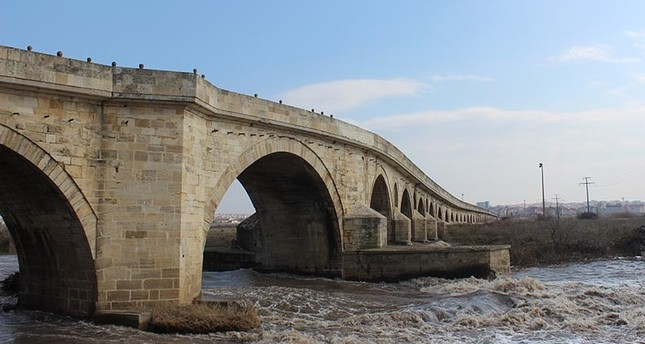 Uzunköprü Bridge, located in Turkey's Edirne province, connects Turkey to the Balkans and Europe (AA Photo)